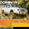 Domin8r Stainless Steel Exhaust Suitable For Nissan Navara D40 2.5L All Bodies 2007+ (THAILAND BUILD) (MANUAL) (Turbo Back)