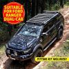 Adventure Kings Aluminium Platform Roof Rack Suitable for Ford Ranger Dual-Cab 2011+