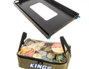 Adventure Kings Titan 100L Fridge Slide + Clear Top Canvas Bag