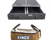 Titan Drawer System - 1070mm + Adventure Kings Clear Top Canvas Bag
