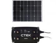 Adventure Kings 110w Fixed Solar Panel + CTEK D250SE DC/DC 20A Dual Battery System