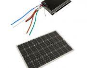 Adventure Kings 110w Fixed Solar Panel + Adventure Kings MPPT Regulator