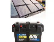 Adventure Kings 120W Portable Solar Blanket + Battery Box