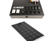 12V Control Box + Adventure Kings 160w Fixed Solar Panel