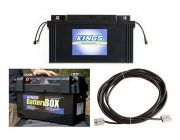 138Ah AGM Deep-Cycle Battery + Adventure Kings Maxi Battery Box + 10m Lead For Solar Panel Extension