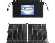 138Ah AGM Deep-Cycle Battery + Adventure Kings 160w Solar Panel