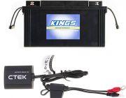 Adventure Kings 138Ah AGM Deep-Cycle Battery + CTEK Battery Sense