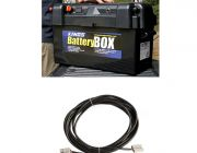 Adventure Kings Maxi Battery Box + 10m Lead For Solar Panel Extension