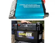 Adventure Kings 1500W Inverter + Maxi Battery Box