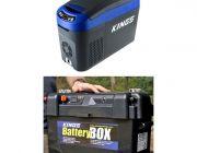 Adventure Kings 15L Centre Console Fridge/Freezer + Maxi Battery Box