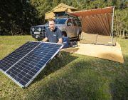 250W Portable Solar Panel incl regulator - Camp-Ready Bush Power | Adventure Kings