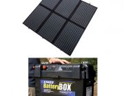 Adventure Kings 200W Solar Blanket with MPPT +  Maxi Battery Box