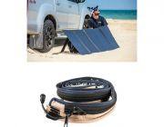 Adventure Kings 250W Solar Blanket with MPPT Regulator + LED Strip Light