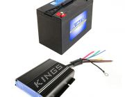 Adventure Kings 25AMP DC-DC Charger (with MPPT SOLAR) + AGM Deep Cycle Battery 115AH