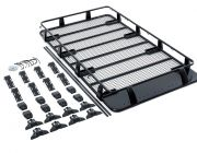 Steel Full Length Roof Rack for Gutter Mount Vehicles | Incl mounting brackets | Powdercoated
