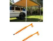 Adventure Kings Awning 2.5x2.5m + 2x GroundGrabba - Lite