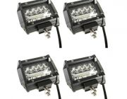 "2x Adventure Kings 4"" LED Light Bar"