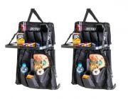 2x Adventure Kings Premium Car Seat Organiser with Folding Table