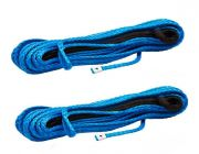 2x Hercules Synthetic Winch Rope - 9mm x 28m
