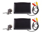 "2x Adventure Kings Reverse Camera Kit with 5"" Screen"