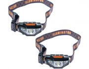 2x Illuminator LED Head Torch