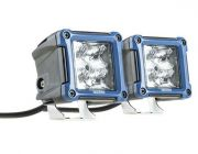 Kings OSRAM 3in Work Lights (Pair) | 1 Lux @ 146m (Pair) | 2180 Lumens (Pair) | Super-Efficient