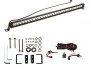 "Kings 30"" LETHAL MKIII Slim Line LED Light Bar + Wiring Harness + Sliding Brackets for Slim Line Light Bars (Pair)"
