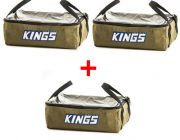 3 x Adventure Kings Clear Top Canvas Bag