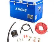 Adventure Kings 70L Camping Fridge/Freezer + Dual Battery System