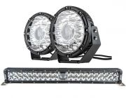 "Adventure Kings 24"" Laser Light Bar + Kings 8.5"" Laser MKII Driving Lights (pair)"