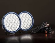 "Pair of 9"" Domin8r X Driving Lights fitted with OSRAM LEDs 