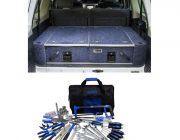900mm Titan Rear Drawers suitable for smaller wagons + Adventure Kings Tool Kit - Ultimate Bush Mechanic