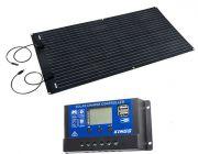 Adventure Kings 160W Semi-Flexible Solar Panel + 15A PWM Solar Controller