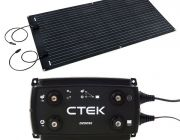 Adventure Kings 160W Semi-Flexible Solar Panel + CTEK D250SE DC/DC 20A Dual Battery System