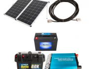 Adventure Kings 250W Solar Complete Camp Power Pack