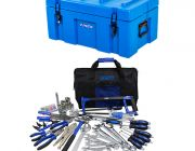 Adventure Kings 78L Tough Tool Box + Tool Kit - Ultimate Bush Mechanic