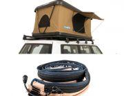 Kings Kwiky MKII Hard Shell Rooftop Tent + Adventure Kings LED Strip Light
