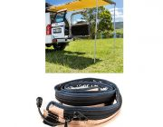 Adventure Kings Rear Awning - 1.4 x 2m + LED Strip Light