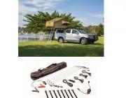 Adventure Kings Roof Top Tent + Illuminator 4 Bar Camp Light Kit