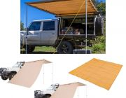 Adventure Kings Awning 2x3m + 2x Adventure Kings Awning Side Wall + Mesh Flooring 3m x 3m