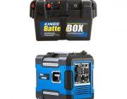 Adventure Kings 2KVA Generator Closed Case + Battery Box