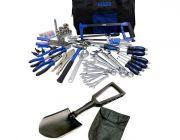 Adventure Kings Tool Kit - Ultimate Bush Mechanic + Recovery Folding Shovel