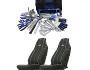 Adventure Kings Tool Kit - Ultimate Bush Mechanic + Adventure Kings Heavy Duty Seat Covers (Pair)