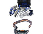 Adventure Kings Tool Kit - Ultimate Bush Mechanic + Illuminator LED Head Torch