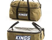 Adventure Kings Clear Top Canvas Bag + Canvas Travel Bag
