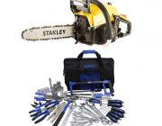 Stanley 37cc Camping Chainsaw + Adventure Kings Tool Kit - Ultimate Bush Mechanic
