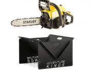 Stanley 37cc Camping Chainsaw + Kings Portable Steel Fire Pit