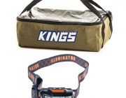 Adventure Kings Clear Top Canvas Bag + Illuminator LED Head Torch