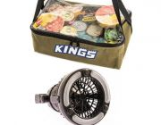 Adventure Kings Clear Top Canvas Bag + 2in1 LED Light & Fan