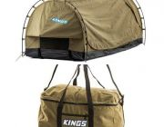 Kings Deluxe Escape Single Swag + Travel Canvas Bag